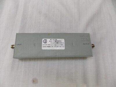 Coaxial Dynamics 2261 Low Pass Rf Filter