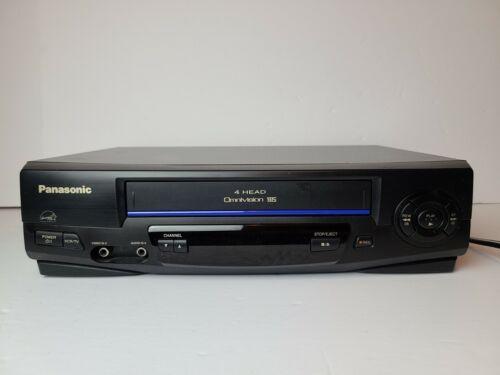 Panasonic 4 Head Hi-Fi Stereo VHS Cassette VCR PV-V402 - No Remote - TESTED - $49.99
