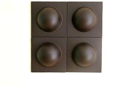 4 Bubble Elemente 70er 60er Style POP ART Wand Bilder Bild braun NR 3