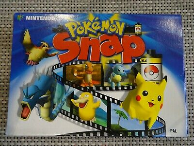 Pokemon Snap N64 Boxed PAL VGC