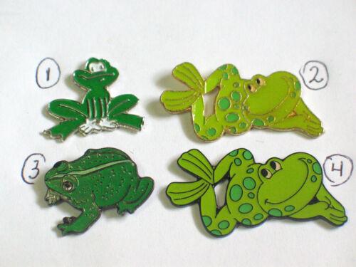 Frog Pin , Lapel Pin , (Choice of (1) - #1, #3, or #4)