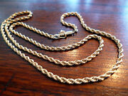 14k Yellow Gold Vintage Chains