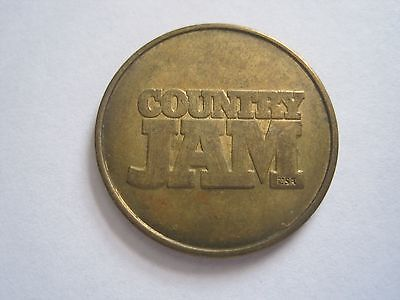 Country Jam USA Music Festival Eau Claire Wisconsin Token 0423-6