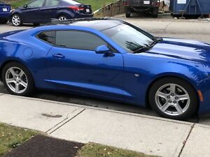 Mint 2017 Chevy Camaro with extended warranty