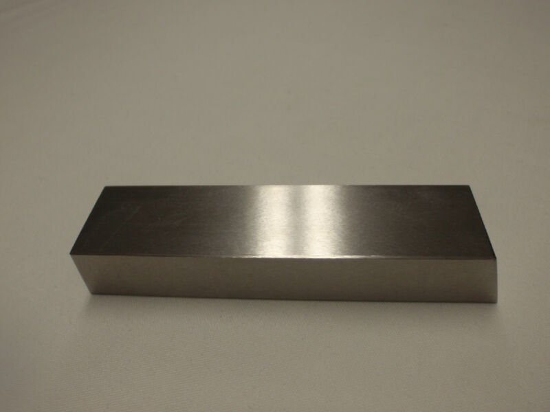 "Tungsten Bucking Bar 1.6 pounds.  1"" X 4"" X 5/8"""