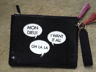 Ladies Handbag Clutch 30cm-25cm,Faux Leather Reptile Imitation Ladies New