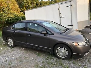 2009 honda civic 5 speed 150000klms ;5195.00