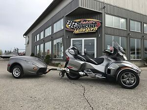 2012 Can-Am SPYDER RT LIMITED SE5 & TRAILER