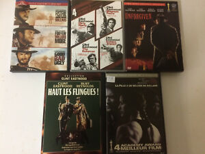 Collection dvd Clint Eastwood