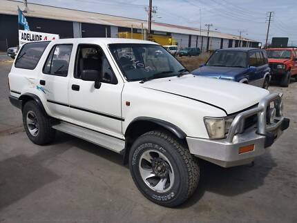 Wrecking 91 Toyota Hilux 4Runner VZN130 MT 4WD 161105, Parts Only