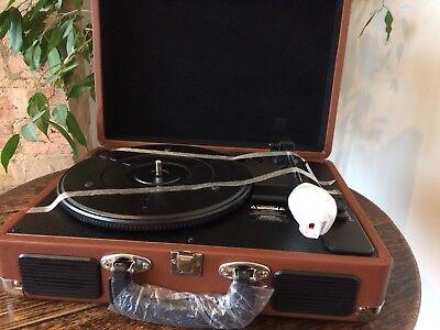 M&S retro record  player NEW. RRP £70