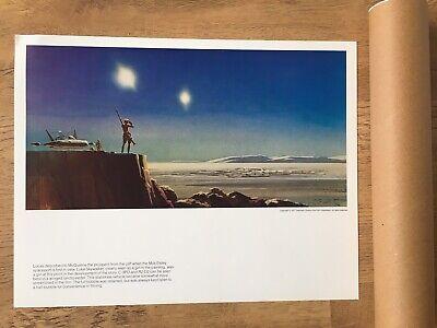 Vintage Star Wars Portfolio Ralph McQuarrie Paintings Prints 1977 Lithograph