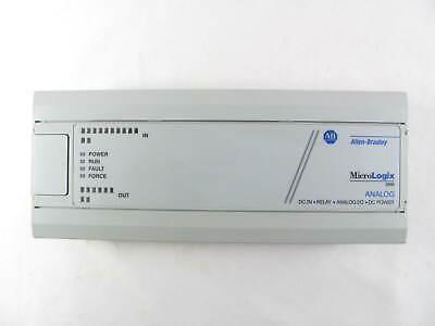 Allen Bradley Micrologix 1000 1761-l20bwb-5a Ser A W Analog Io Good Shape