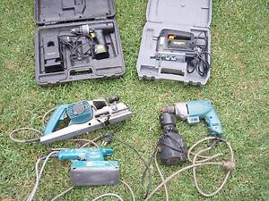 Power tools, Planer, Sander, Screw gun jigsaw, Cordless drill Grays Point Sutherland Area Preview