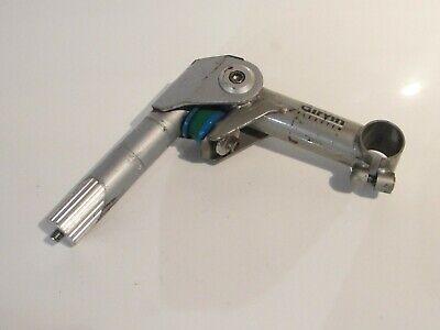 "Silver Aluminum Alloy QUILL STEM 25.4//22.2mm 80mm Fixed For 1/"" Steerer Fork"