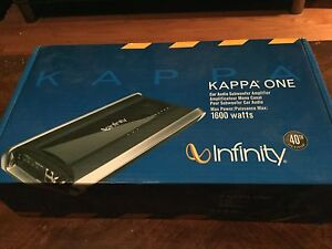 Kappa One Car Amp