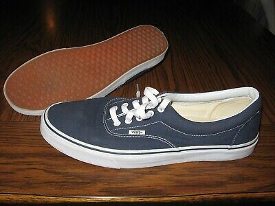 VANS Navy Blue Canvas Skate low-top Shoes Sneakers mens Size 13