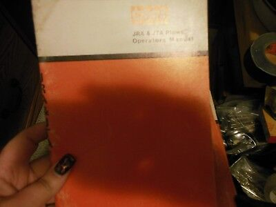 Case Jra Jta Plow Operators Manual 9-45446