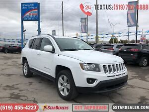 2017 Jeep Compass High Altitude | 4X4 | LEATHER | ROOF