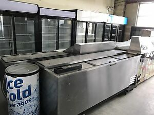 Coolers, Freezers, Prep Tables, Ice Machines & More!