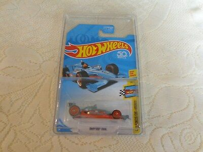 2018 HOT WHEELS SUPER TREASURE HUNT - '17 INDY 500 OVAL IN PROTECTOR