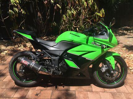 Kawasaki Ninja 250 special edition Nakara Darwin City Preview