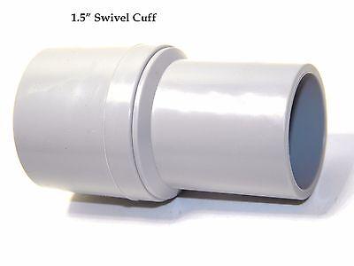 Carpet Cleaning 1.5 Wand Hose Swivel Cuff