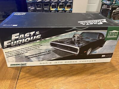 1:18 Fast Furious 1970 Dodge Charger Black
