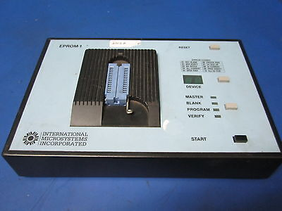Imi International Microsystems Inc Eprom-1-128k Programmer W Blue Attachment
