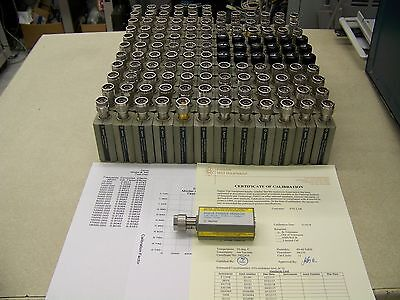 Agilent Hp 8481a Power Sensor Nsn 6625-00-354-9762 Z540 Cal And Warranty