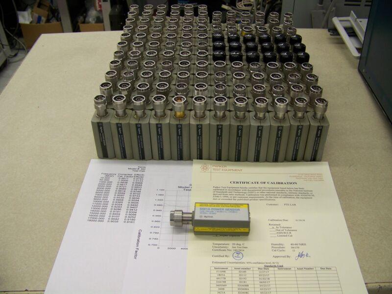 Agilent HP 8481A Power Sensor, NSN 6625-00-354-9762, Z540 CAL and warranty