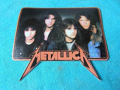 Metallica Group Vinyl 3 Inch Iron On Patch