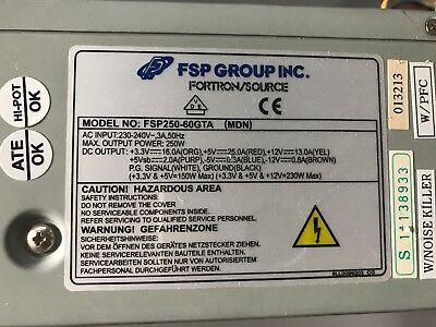 FSP Fortron/Source FSP250-60GTA (MDN) 250W Netzteil #N2511