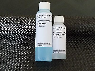 Genuine 2x2 Twill Carbon Fiber Epoxy Resin Kit - 6 X 36 Material