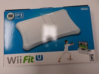 Wii U -- Wii Fit U w/ Balance Board accessory and Fit Meter - NEW (Wii Fit Balance Board)