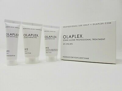 Olaplex Stand Alone Treatment Kit No 1 + No 2 + No 3 SAME DAY SHIPPING *SEALED*