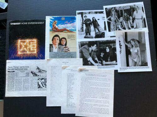 The Sure Thing (1985) - Original Movie Press Kit Envelope w/Photos & News