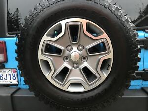 Jeep Jk rubicon rims and tires