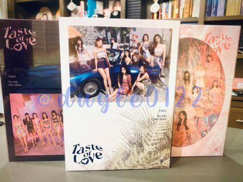 TWICE - Taste of Love Album (opened) -- inclusions present -- see description