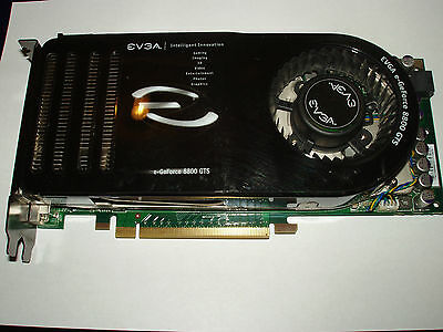EVGA Nvidia GeForce 8800 GTS, 320 MB DDR3, 320 bit, 2xDVI-I, SLI, 320-P2-E811-AR