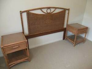 Bedside tables and bed head Cleveland Redland Area Preview