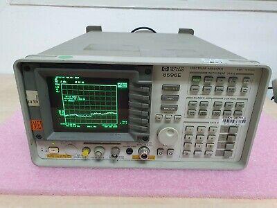 Hp 8596e Spectrum Analyzer 9khz-12.8ghz
