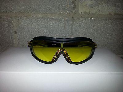 Pyramex Xs3 Plus Amber Yellow Safety Glasses Goggles Z87.1 Z94.3-07