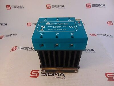Red Lions Controls Rly70000 Solid State Relay 3 Phase 30 Amp 48-660vac