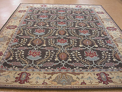 Pottery Barn Brandon Persian Style Hand Tufted New Wool Area Rug Carpet 8' x 10'