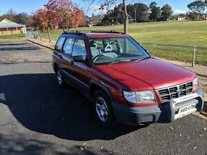 1999 Subaru Forester RX LIMITED Manual SUV
