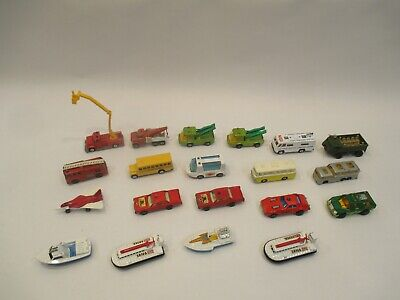 Vintage Matchbox Lot (20) Vehicles Range From Very Good To Excellent Condition