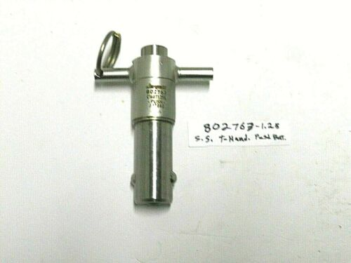 "802763) JERGENS, S.Steel, T-Handle Quick Release Pin, 1""dia. x 1-1/4"" x 4-1/4""L."