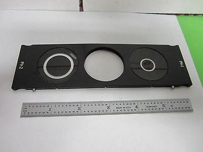 Microscope Part Zeiss Slide Filter Phase Slight Bent Blister Optics Binp3-08