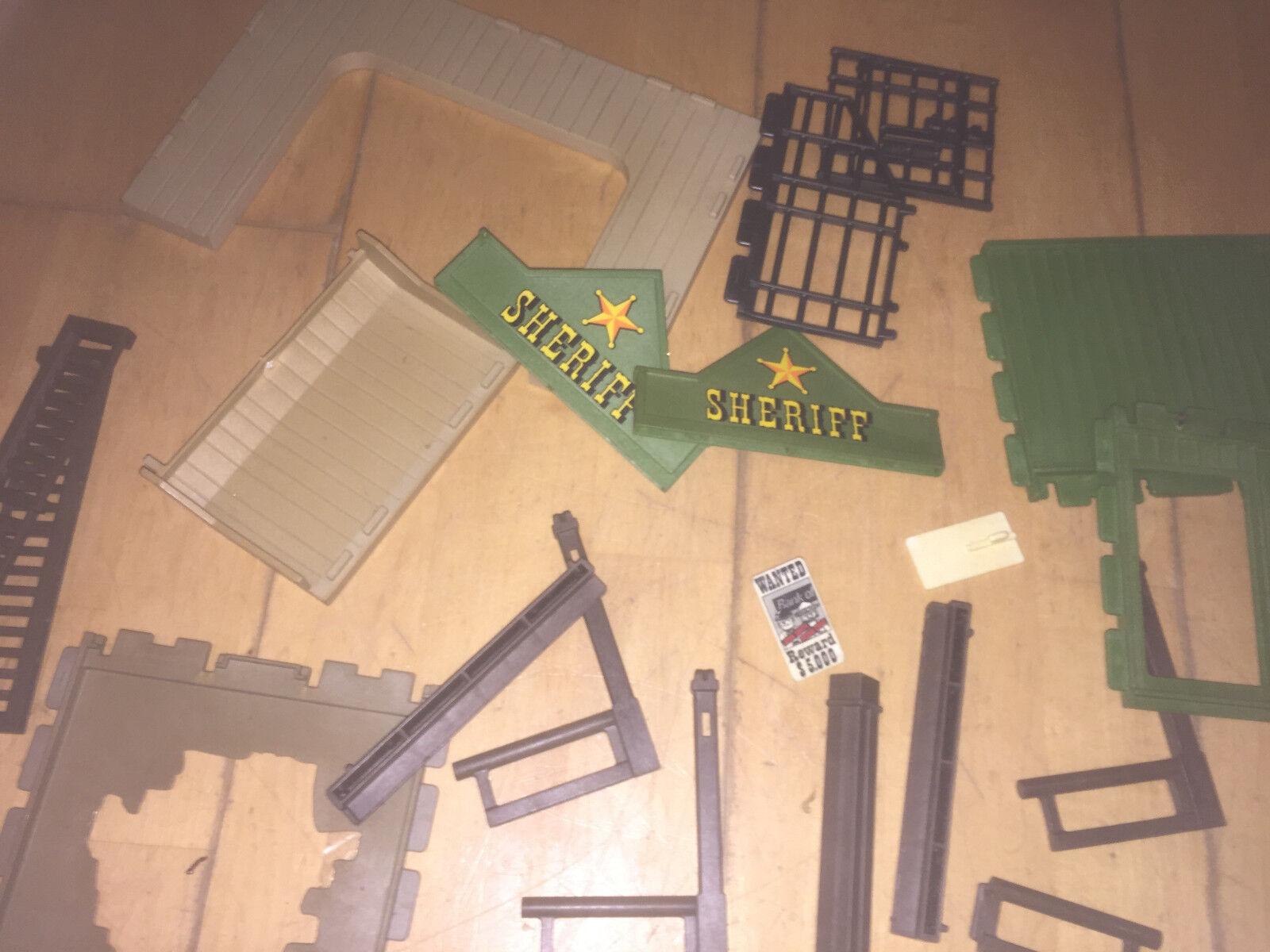 Bezaubernd Durchbruch Wand Dekoration Von Playmobil Western Sheriff´s Office 3786 Ersatzteile ,